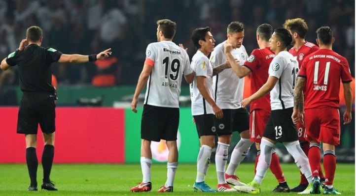 Nachtrag DFB Pokalfinale Bayern gegen Eintracht Frankfurt